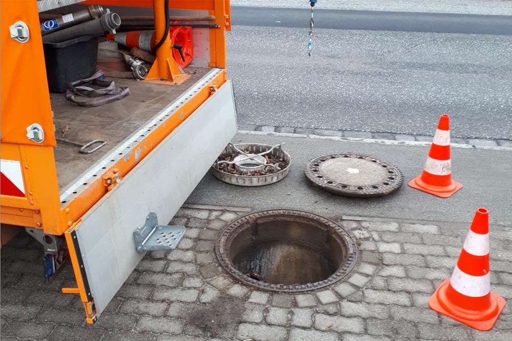 Sanierung Der Schmutzwasserkanäle In Der Mühlenstraße In Wentorf