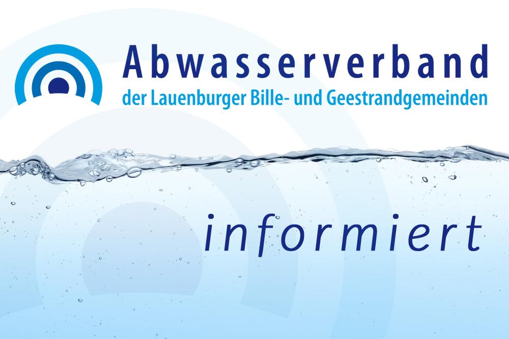 Der Abwasserverband Bleibt Am Dienstag, Den 10.09.2019 Aufgrund Einer Fortbildungsmaßnahme Geschlossen.